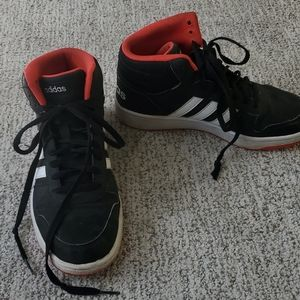 Adidas Hoops Mid 2 basketball shoes black red 7
